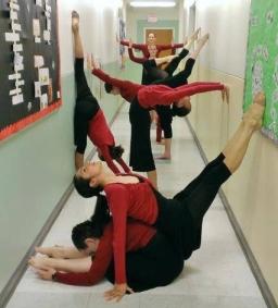 Red_Shrugs_CSUS_Hallway