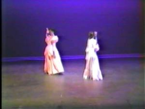 Cultural Affectations was the dance,  with lovely costumes that I think were created by Andrea's mom, Phyllis.